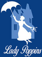 Logo Ladypoppins footer